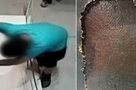 Garoto tropeça e estraga tela do século XVII avaliada em mais de R$ 5 milhões