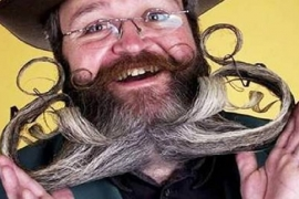 Conheça o Campeonato Mundial de Barba e Bigode!
