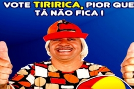 Tiririca pode se tornar presidente