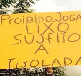 14 Placas que mostram a tolerância zero do brasileiro
