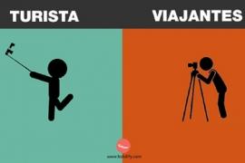 Como diferenciar um turista de um viajante