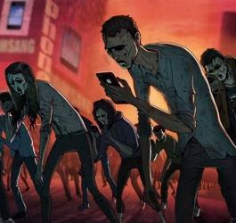 Ilustrações que mostrem a nossa triste realidade