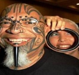 Os piercings mais bizarros já criados