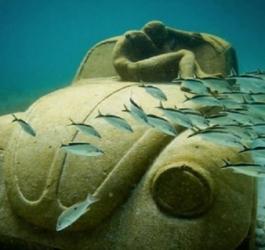 As esculturas subaquáticas mais incríveis do mundo