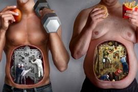 Mais pessoas morrem por obesidade do que por fome
