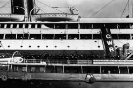10 raras imagens do desastre do Titanic