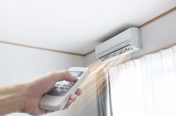 posição do ar condicionado