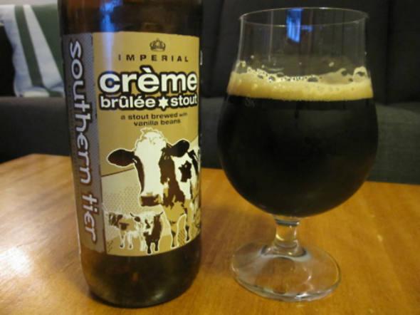 Cerveja de Crème brûlée