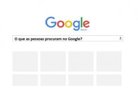 O que as pessoas procuram no Google?
