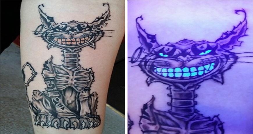 As incríveis tatuagens de luz negra | Acredita Nisso?