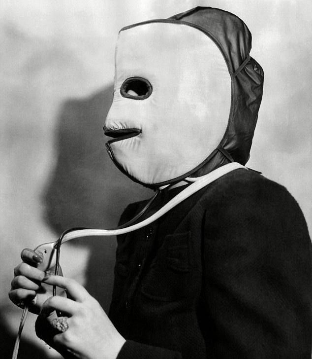 máscara de aquecimento
