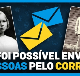 Já foi possível enviar pessoas pelo correio