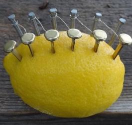 Como fazer fogo através de um limão