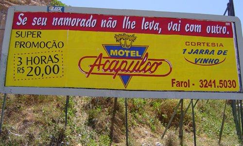 propagando motel 1