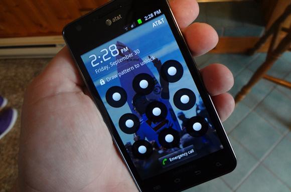 tela de desbloqueio celulares