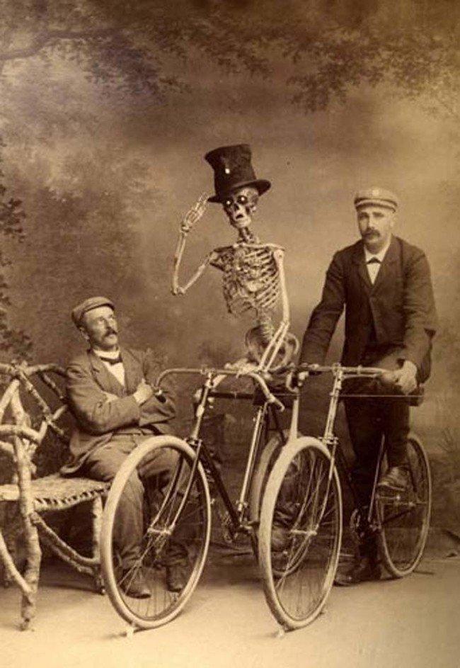 volta de bicicleta