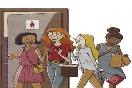 O que as mulheres falam quando vão ao banheiro?