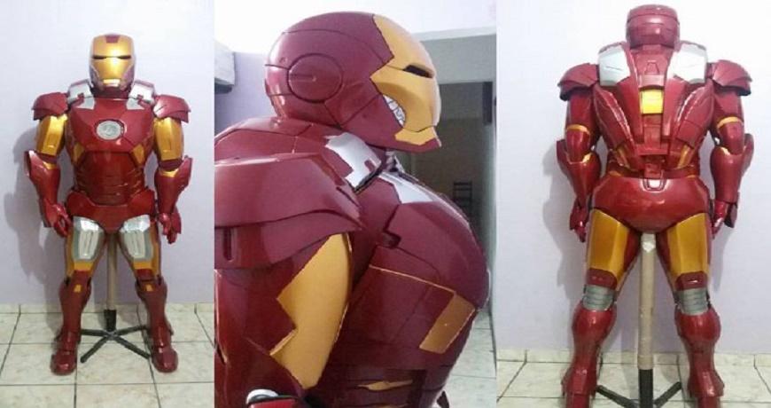 Dupla de brasileiros constrói a armadura do Homem de Ferro ...