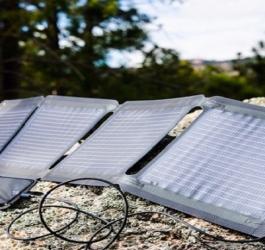 Conheça o incrível carregador solar para smartphone