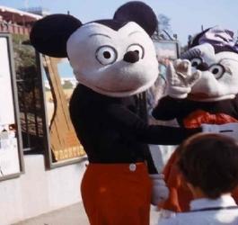 Fotos antigas da Disney que irão acabar com o seu sono
