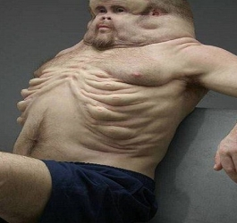 Com este corpo, você é capaz de escapar de qualquer acidente