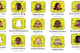 27 Snapchats dos famosos para seguir já