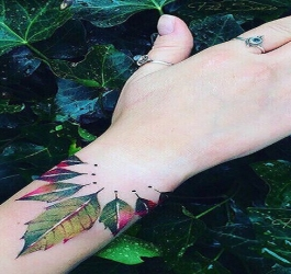 13 incríveis tatuagens inspiradas na natureza