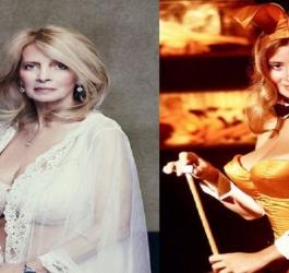 Como estão modelos de capas antigas da Playboy?
