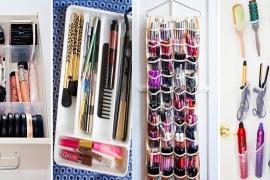 12 dicas ótimas para organizar seus cosméticos