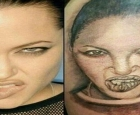 10 fãs que se arrependeram fortemente de tatuar o rosto de seus ídolos
