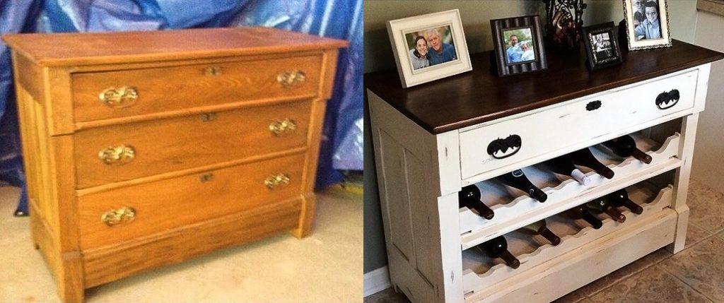 8 ideias incríveis para transformar os móveis antigos de sua casa