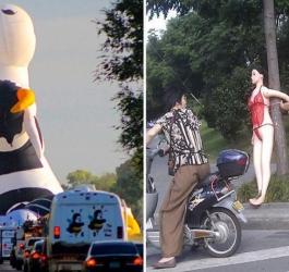 8 coisas estranhas que você encontra nas ruas do Brasil