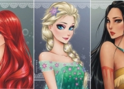 Como seriam as princesas da Disney se fossem animes?