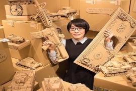 Artista japonesa cria incríveis escultas
