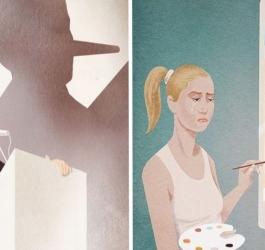 10 ilustrações muito sinceras que mostram como o mundo realmente é
