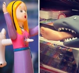 15 brinquedos bizarros para traumatizar os seus filhos
