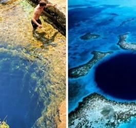 10 lugares para nunca se dar um mergulho